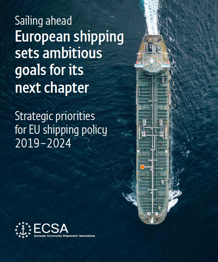 "Entitled ""Sailing ahead - European shipping sets ambitious goals for its next chapter"", the publication outlines ten priority areas which the European shipping industry will be focussing on."