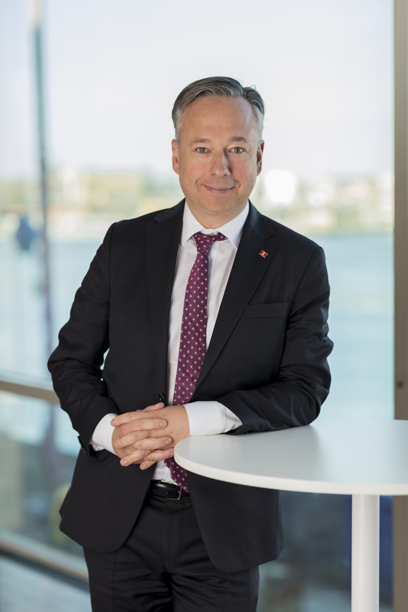 Claes Berglund is ECSA's new President.