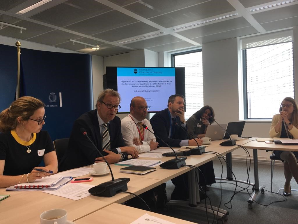 Photo: ECSA organises workshop on the shipping industry's interests in the UN negotiations on international ocean governance