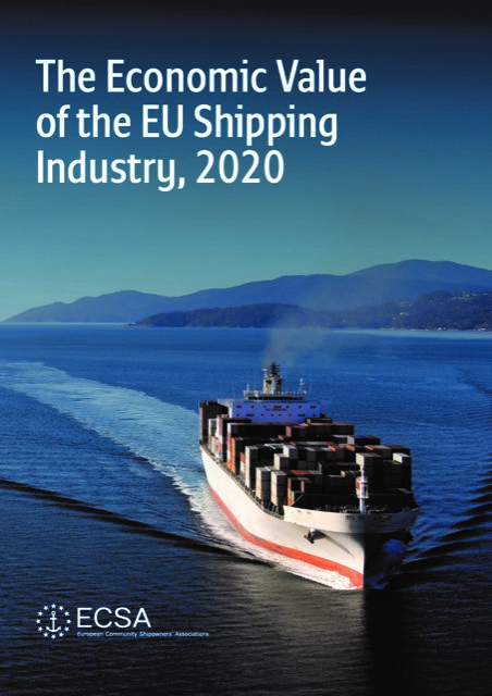 "Download the 2020 update of the 'Economic Value of the EU Shipping Industry"" by Oxford Economics"